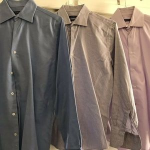 SAKS FIFTH AVE Lot Of 3 Mens Long Sleeves